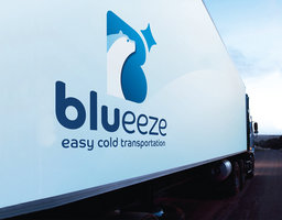 refrigerated transport with blueeze