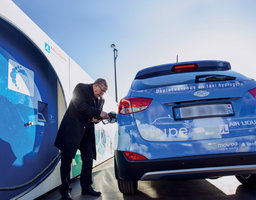 Hydrogen station in Paris