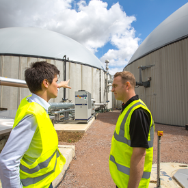 Biomethane production : sustainable energy