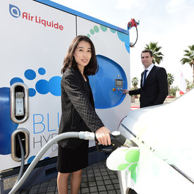 Hydrogen is an obvious solution for limiting dependency on oil and also ensuring that our vehicles are more environmentally friendly.