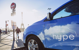 Hype taxi : first hydrogen fleet