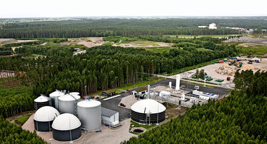 Lidkoping : biogas liquefaction
