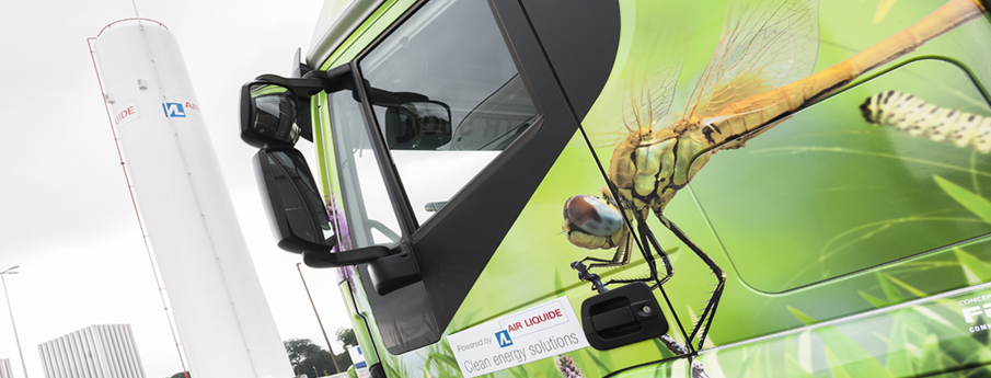 Natural gas to fuel trucks