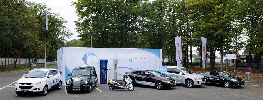 First tests in France of Fuel Cell Electric Vehicles