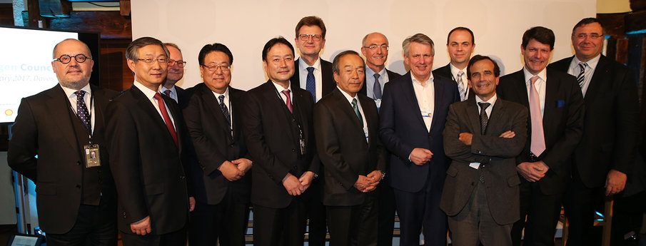 "New ""Hydrogen Council"" launches in Davos"