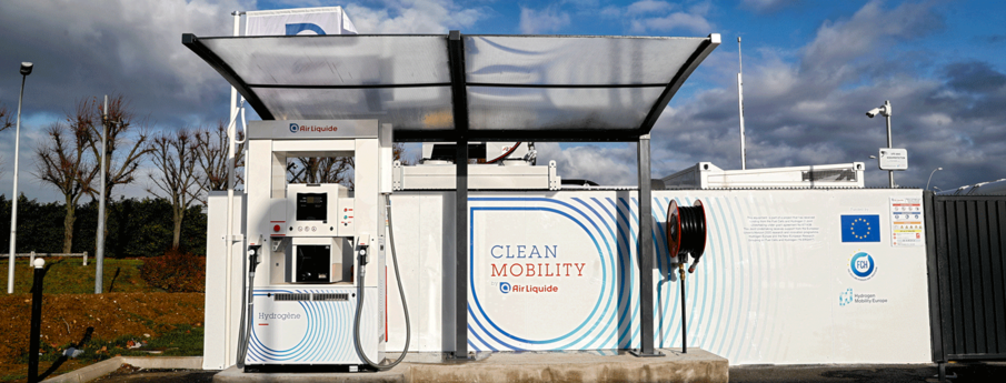 clean mobility orly hydrogen airport