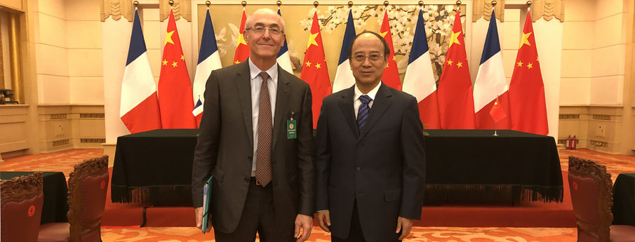 Air Liquide and Sinopec sign an MoU to accelerate the deployment of hydrogen mobility solutions in China