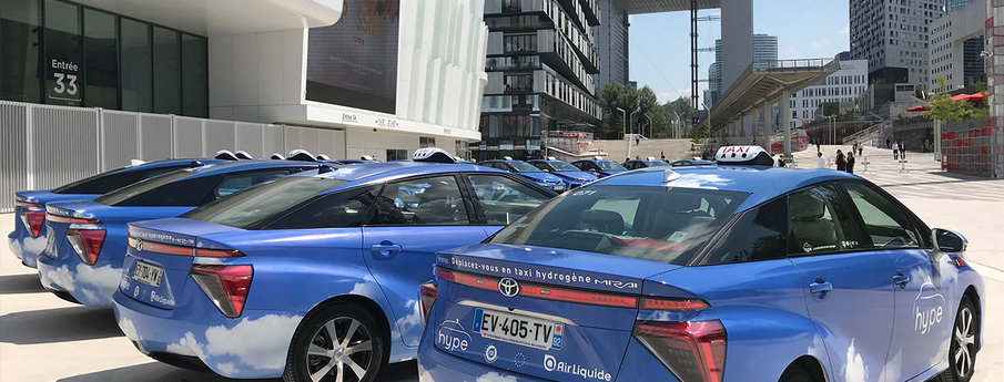 Hydrogen mobility pioneer, Hype, is entering a new phase with HysetCo's acquisition of major taxi firm Slota